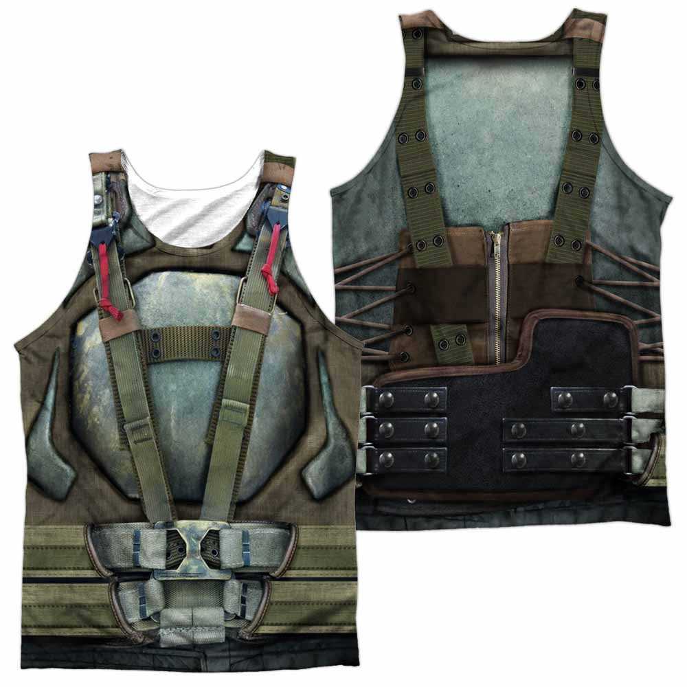 Batman Dark Knight Rises Bane Costume Sublimation Tank Top