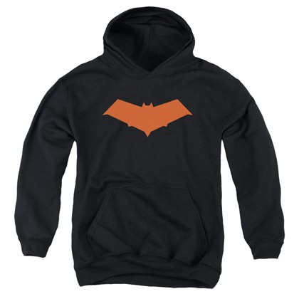 Batman Red Hood Logo Youth Hoodie