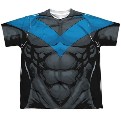 Nightwing Blue Youth Costume Tee
