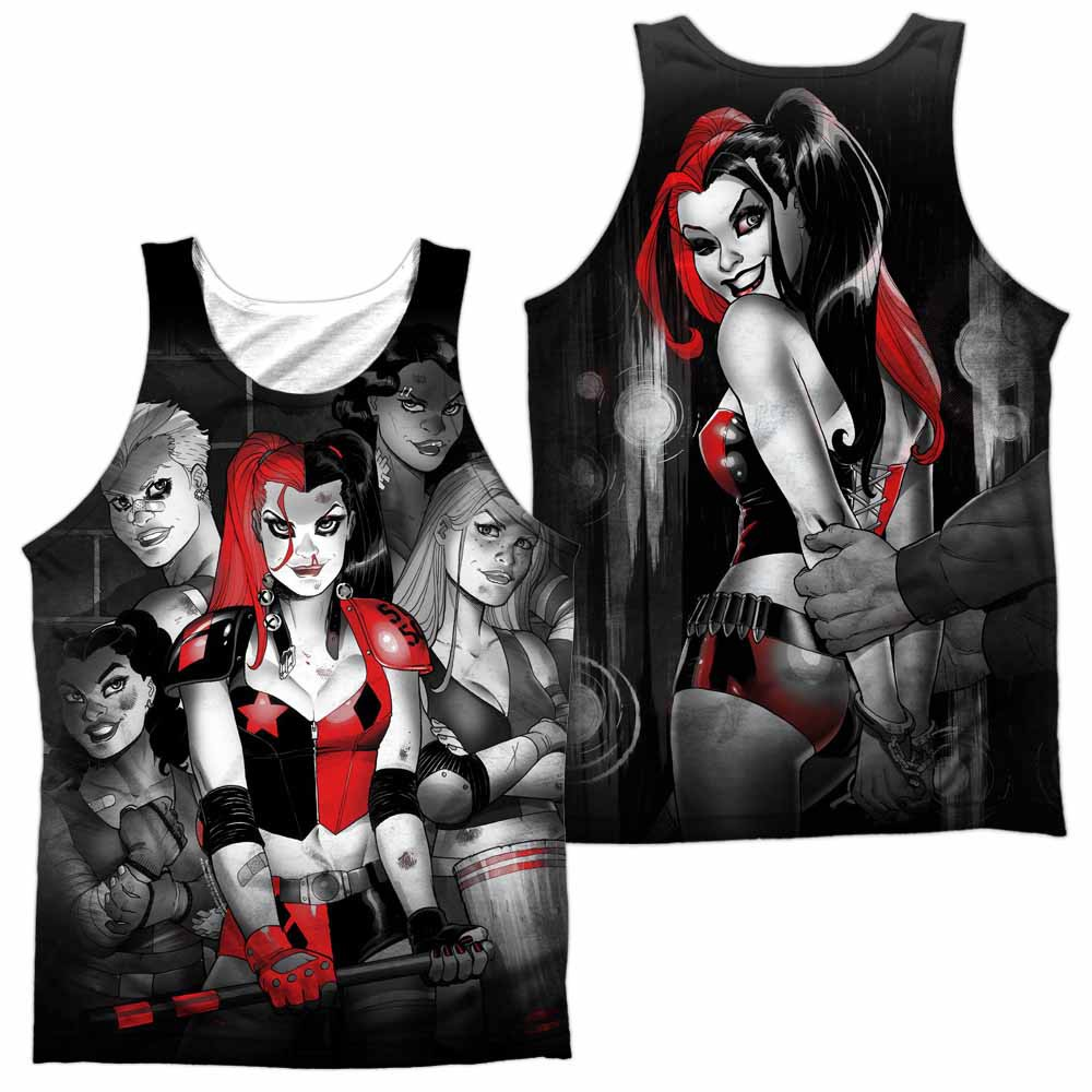 Batman Bad Girls Sublimation Tank Top