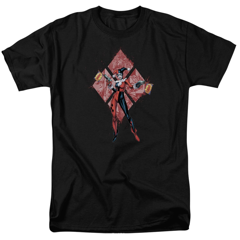 Harley Quinn Pow Pow Diamonds Tshirt
