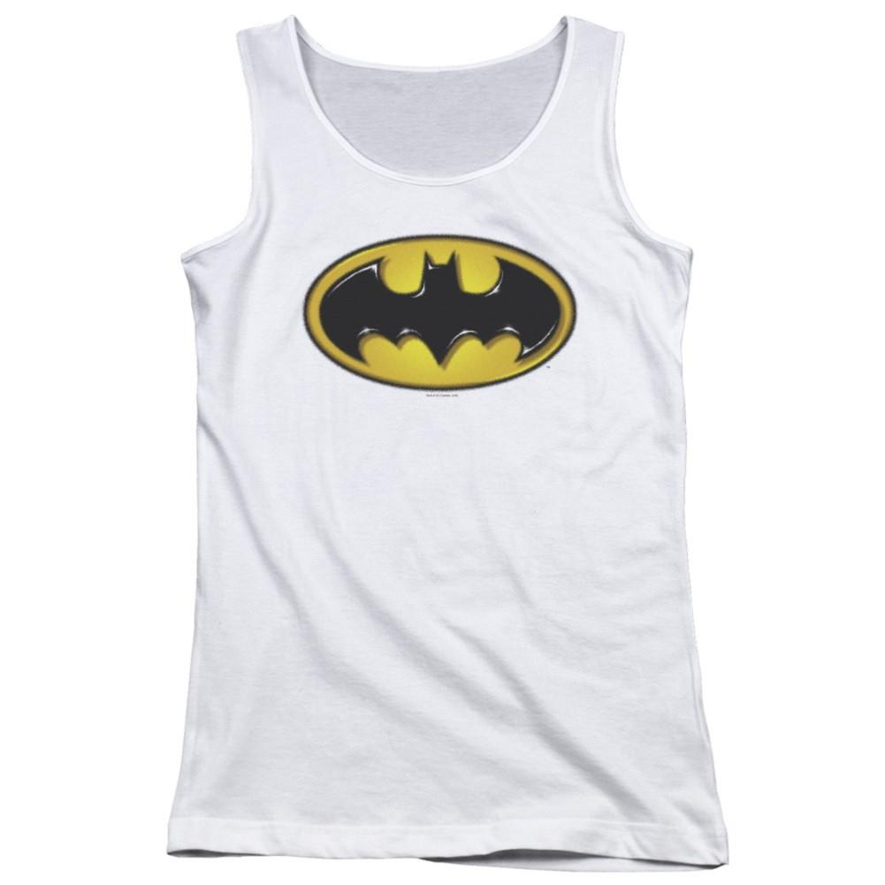 Batman Airbrushed Logo Women's Tank Top