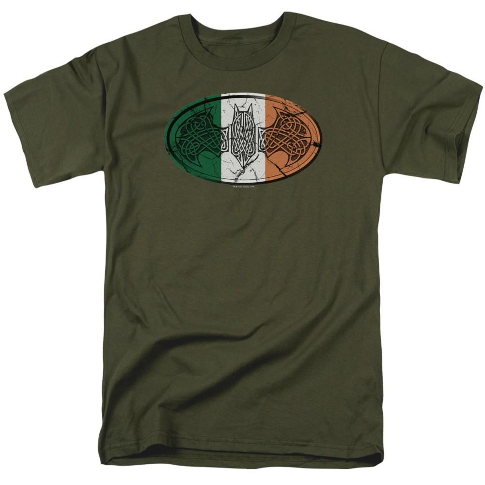Batman Celtic Flag Logo Tshirt