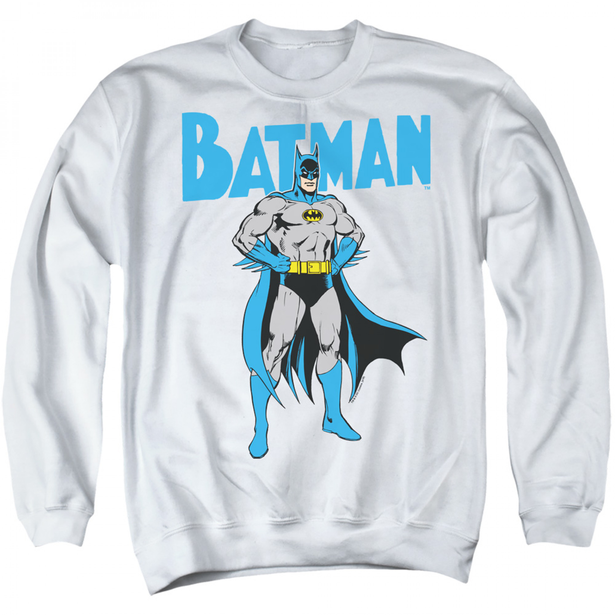 Batman Pose Crewneck Sweatshirt