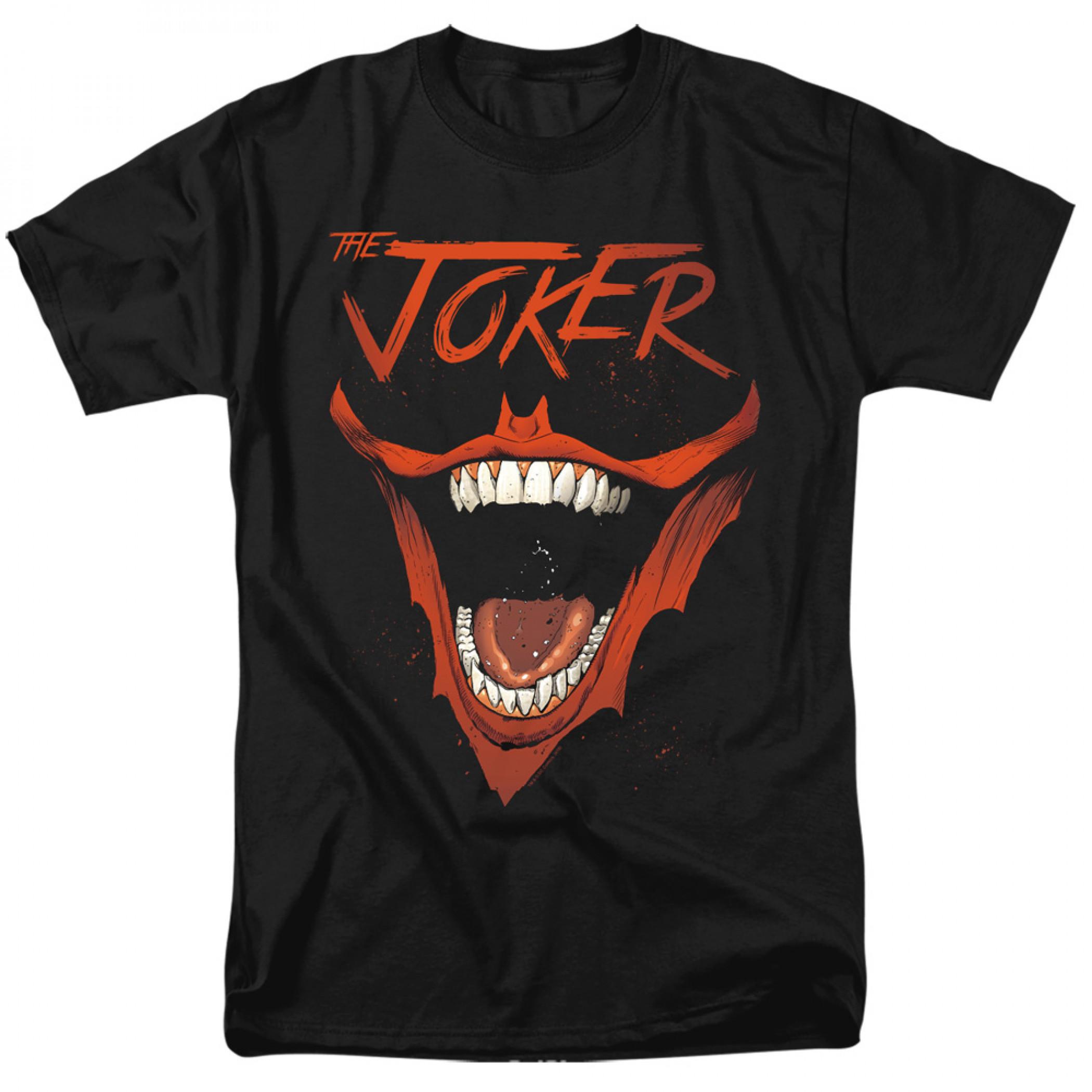 The Joker Bat Logo Smile T-Shirt