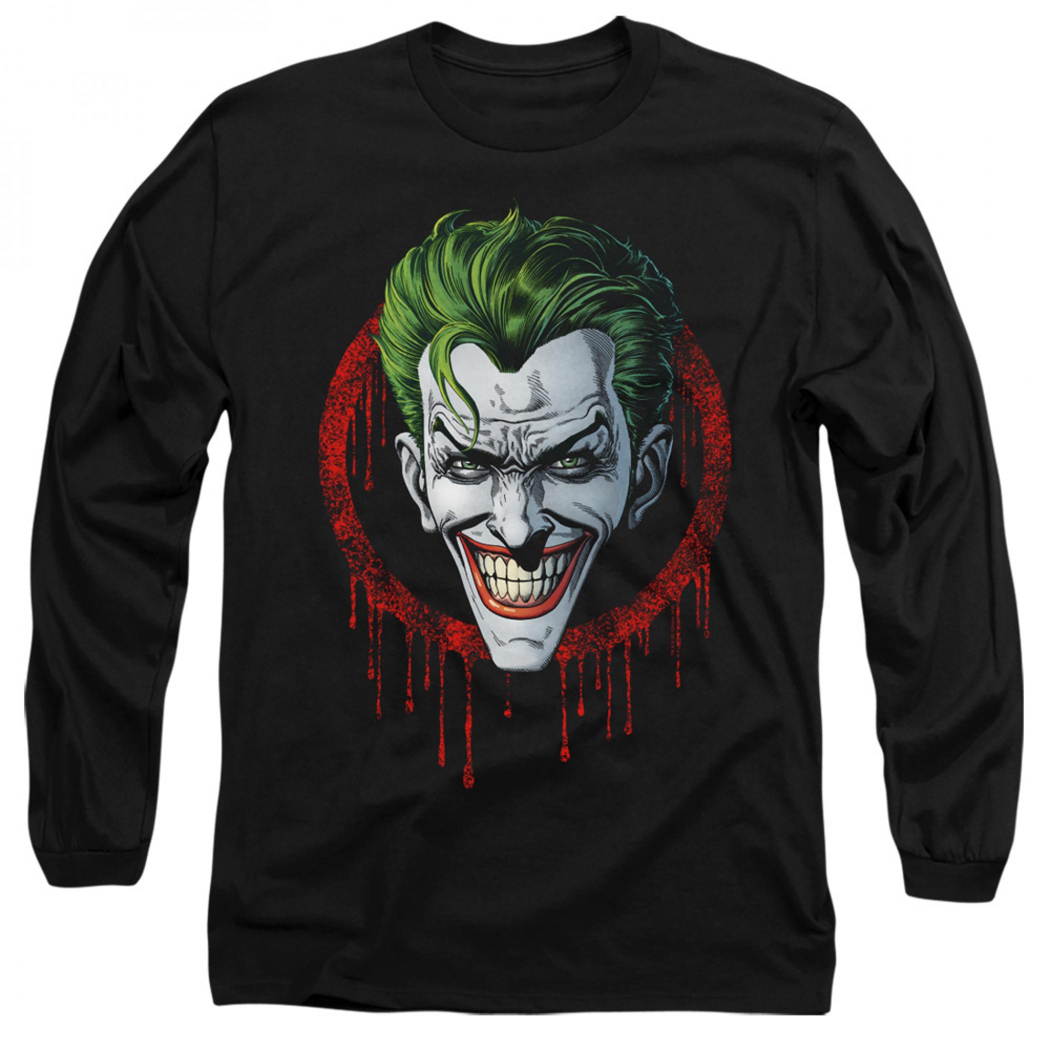 The Joker Drips Long Sleeve Shirt