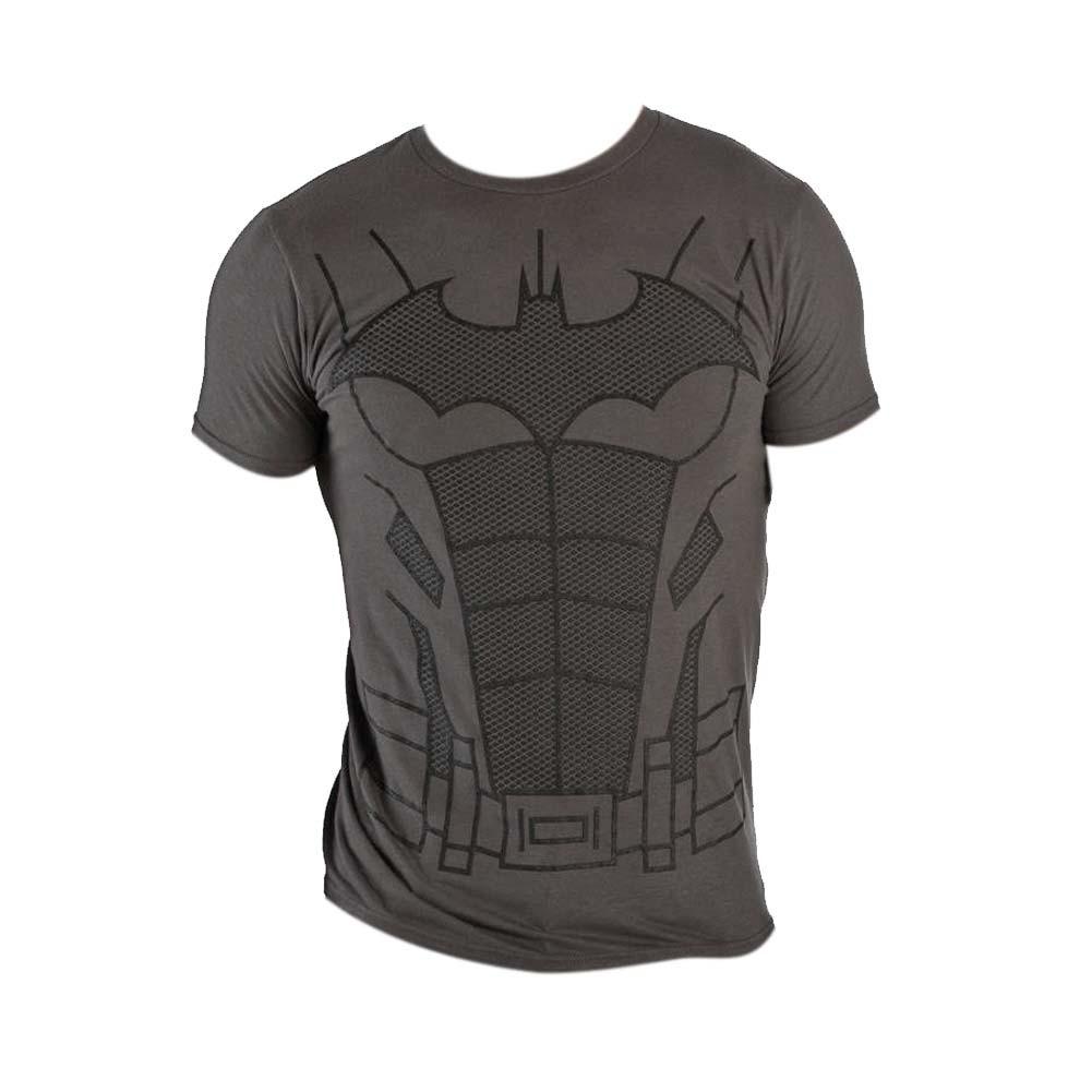 Batman Suit Up Charcoal Costume Tee Shirt