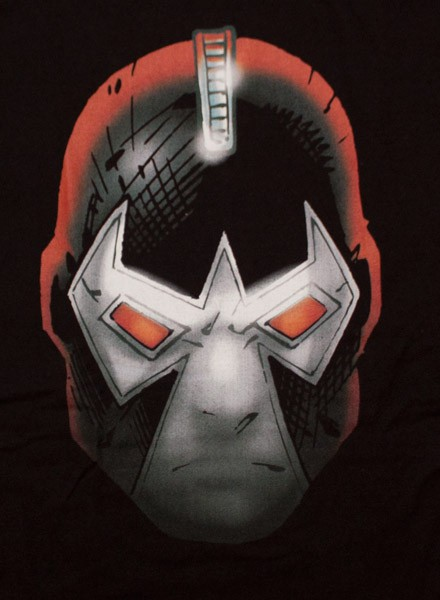 Bane Head Juniors T Shirt - Black
