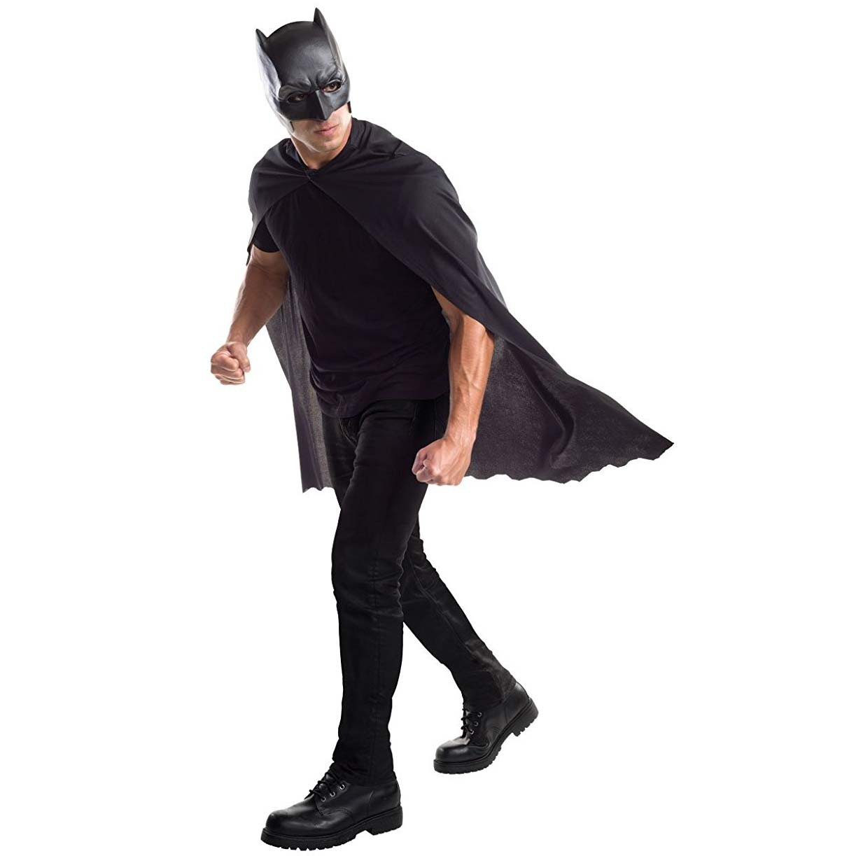 Batman Costume Masked Cape