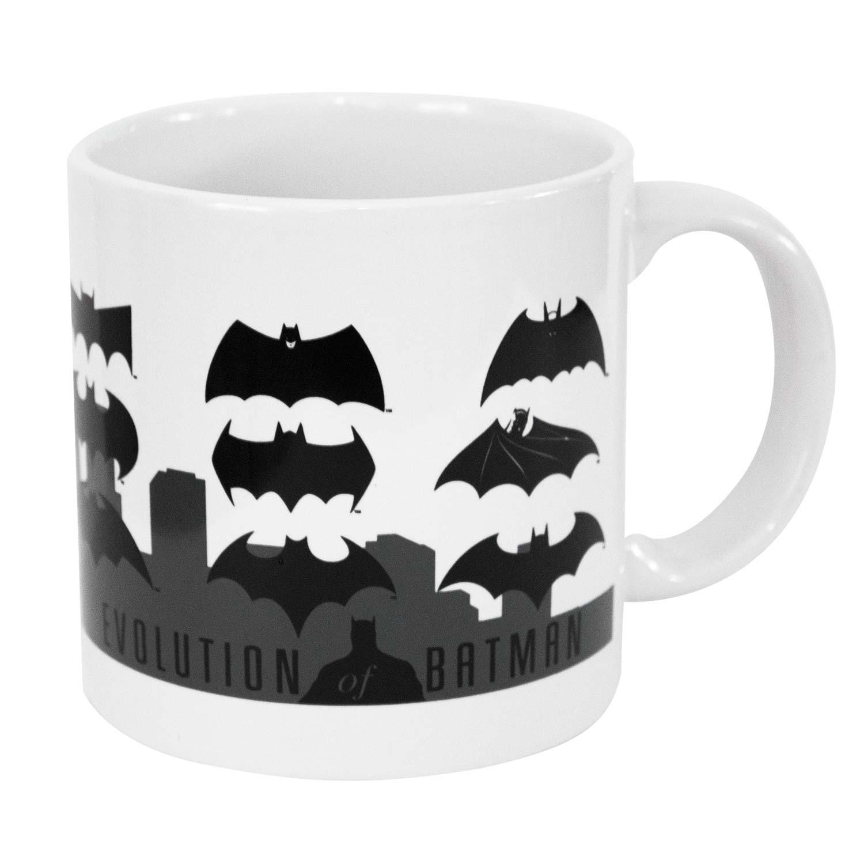 Batman Evolution White Coffee Mug