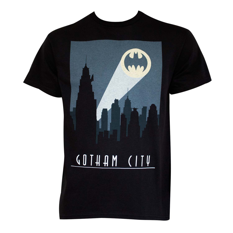 Batman Art Deco Gotham City Tee Shirt