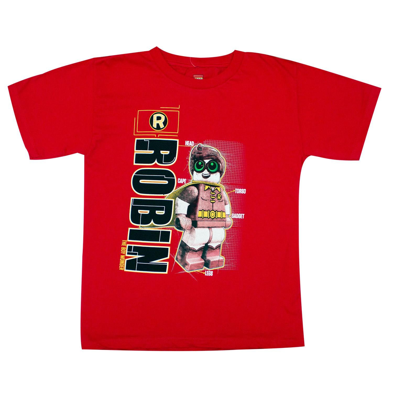 Batman Boy's LEGO Robin Red T-Shirt