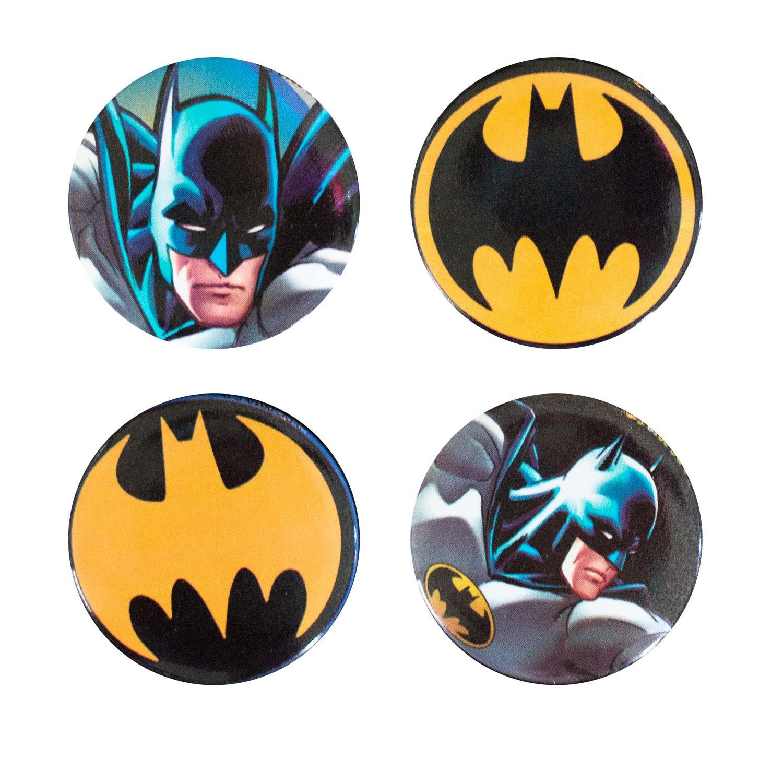 Batman 4 Pack Buttons
