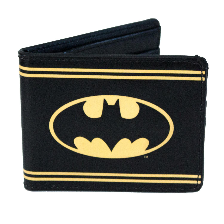Batman Striped Bi-Fold Wallet