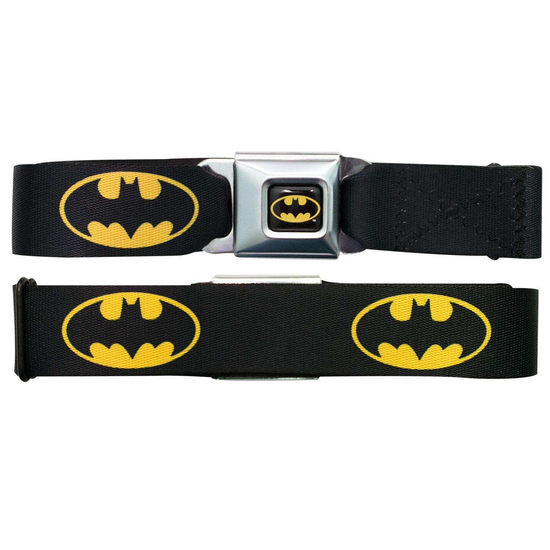Batman Logo Seatbelt Buckle Belt