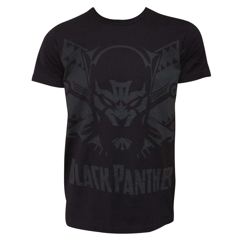 Black Panther Shadow Men's Black T-Shirt