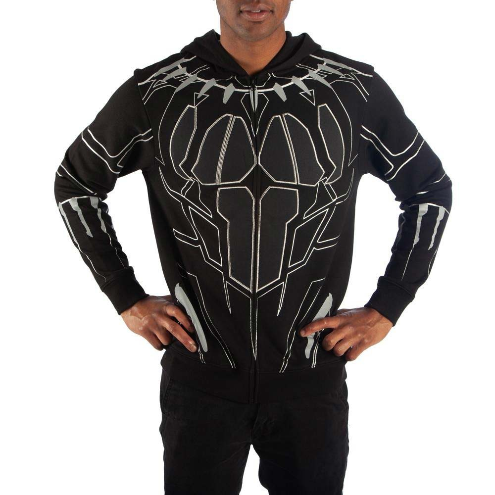 Black Panther Costume Movie Men's Hoodie
