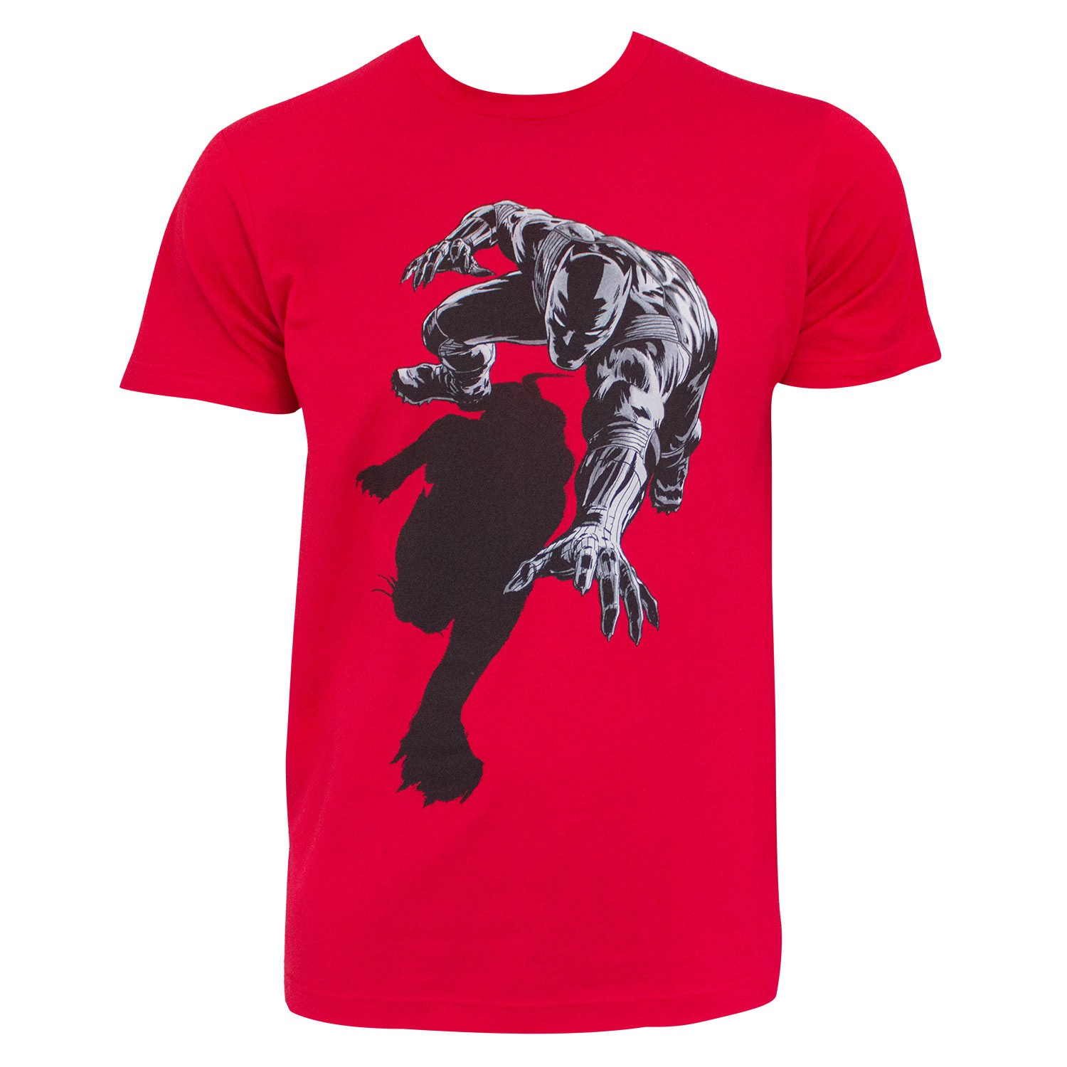 Black Panther Shadow Red Tee Shirt