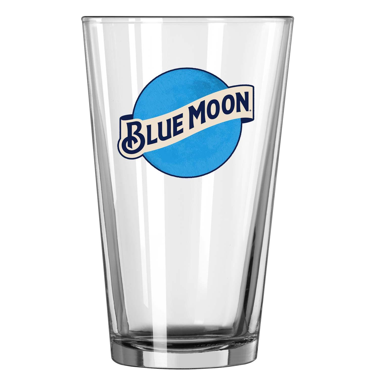 Blue Moon Pint Glass