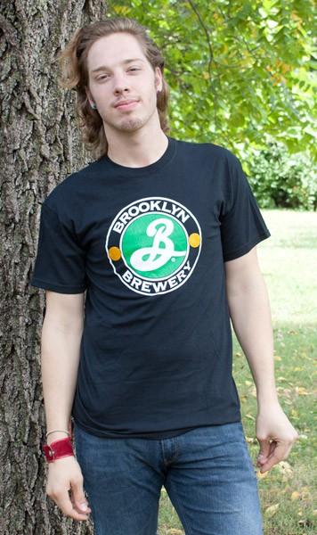 Brooklyn Brewery Beer Logo Men's Black T-Shirt