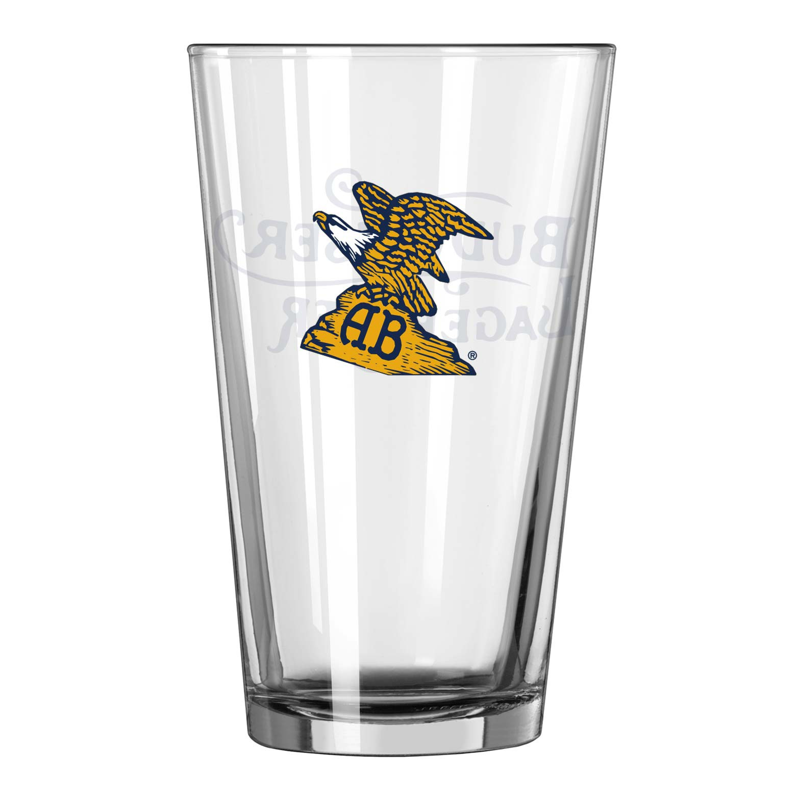 Budweiser Vintage Eagle Pint Glass