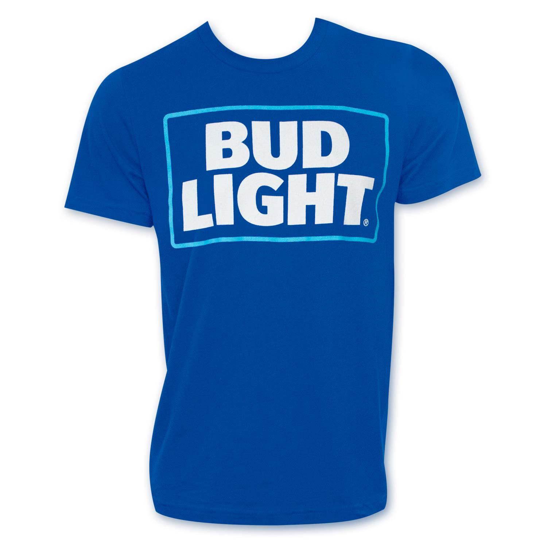 Bud Light Logo Royal Blue Tshirt