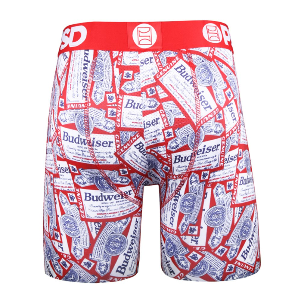 Budweiser Labels Men's Boxer Briefs