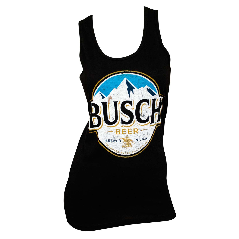 Busch Ladies Black Tank Top