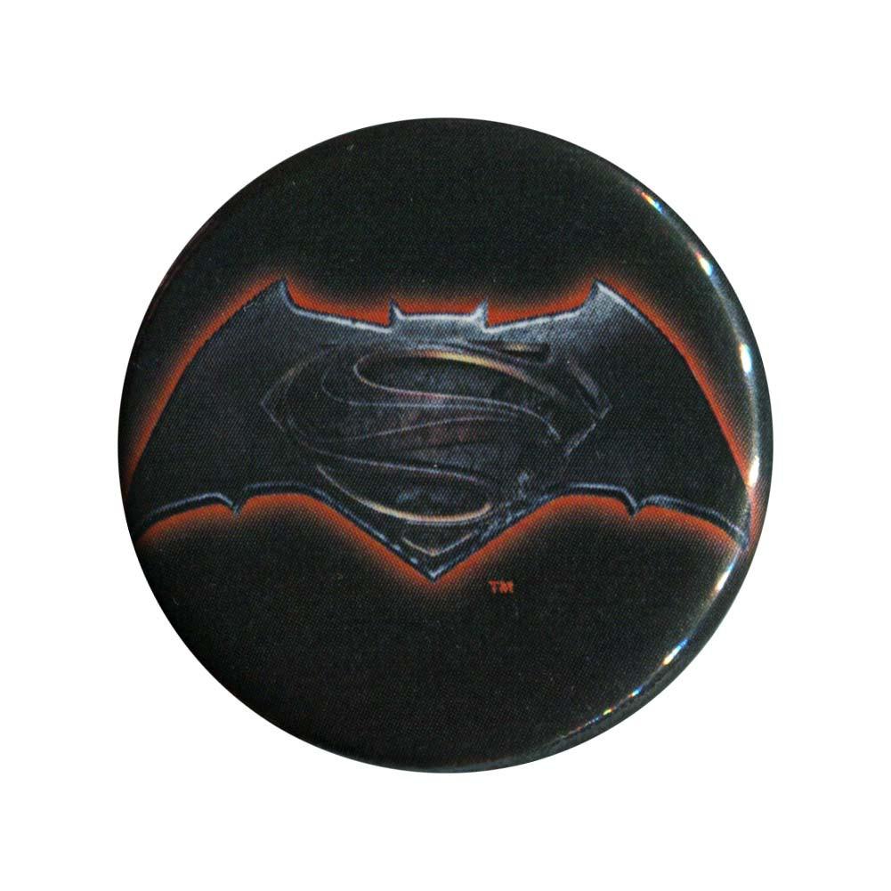 Batman V Superman Dawn Of Justice Logo Button