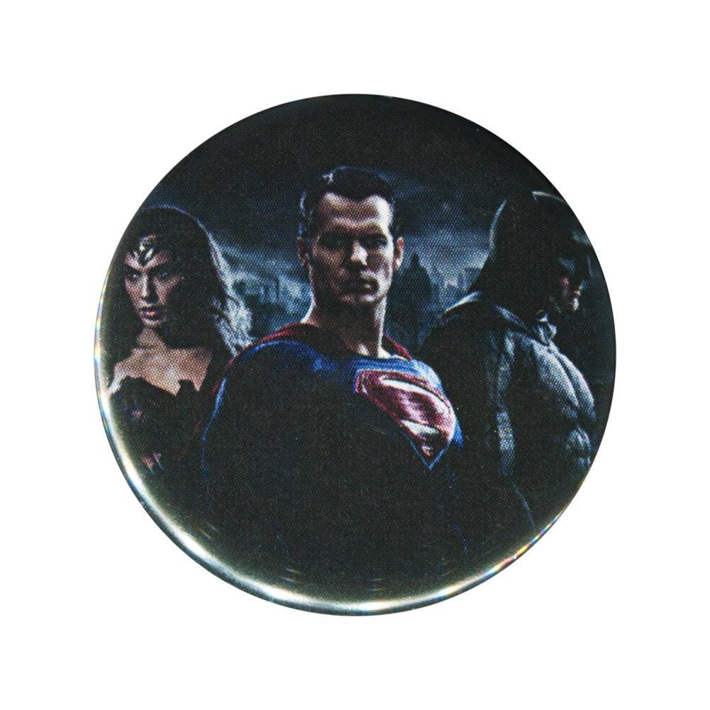 Batman V Superman 3 Characters Button