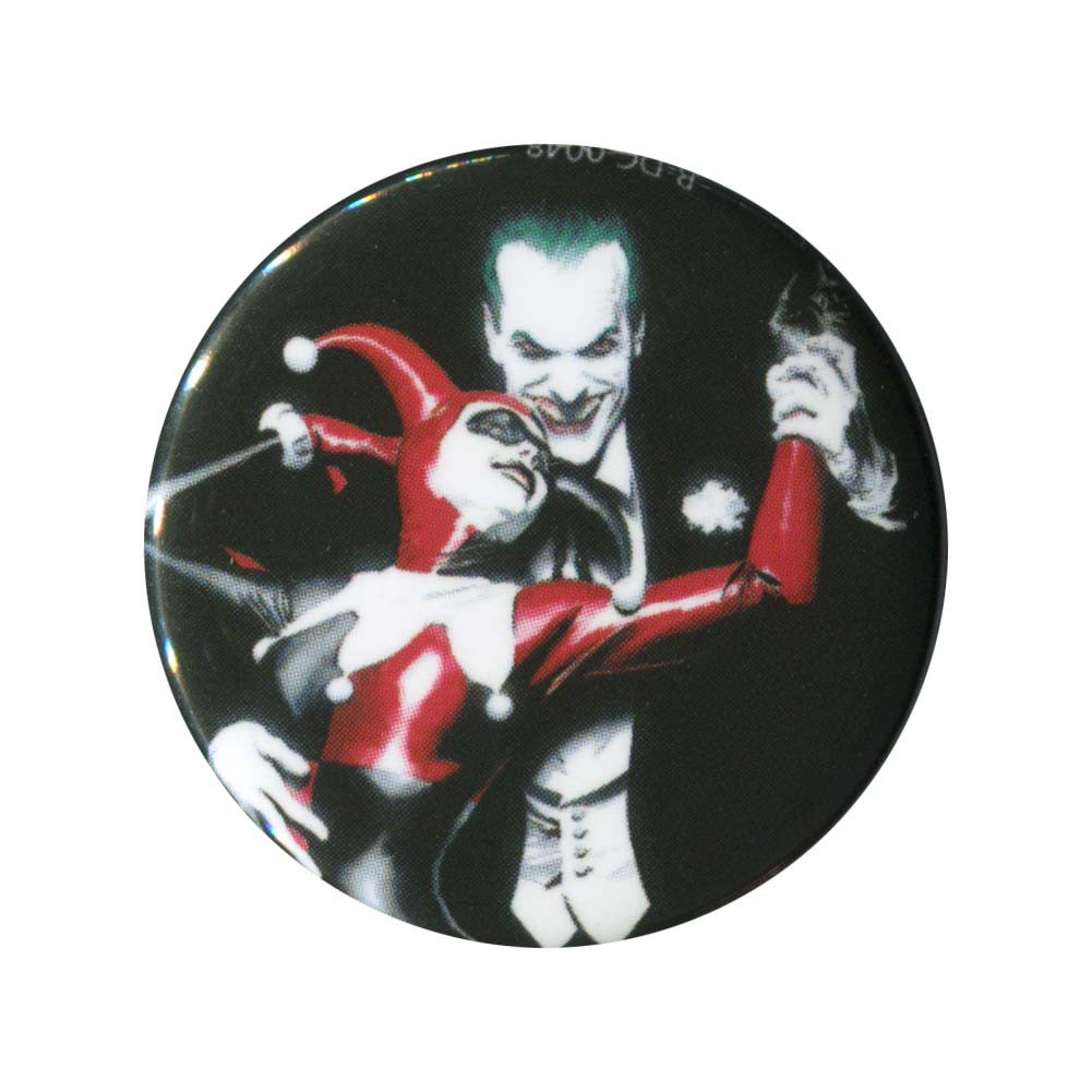Harley Quinn & Joker Button