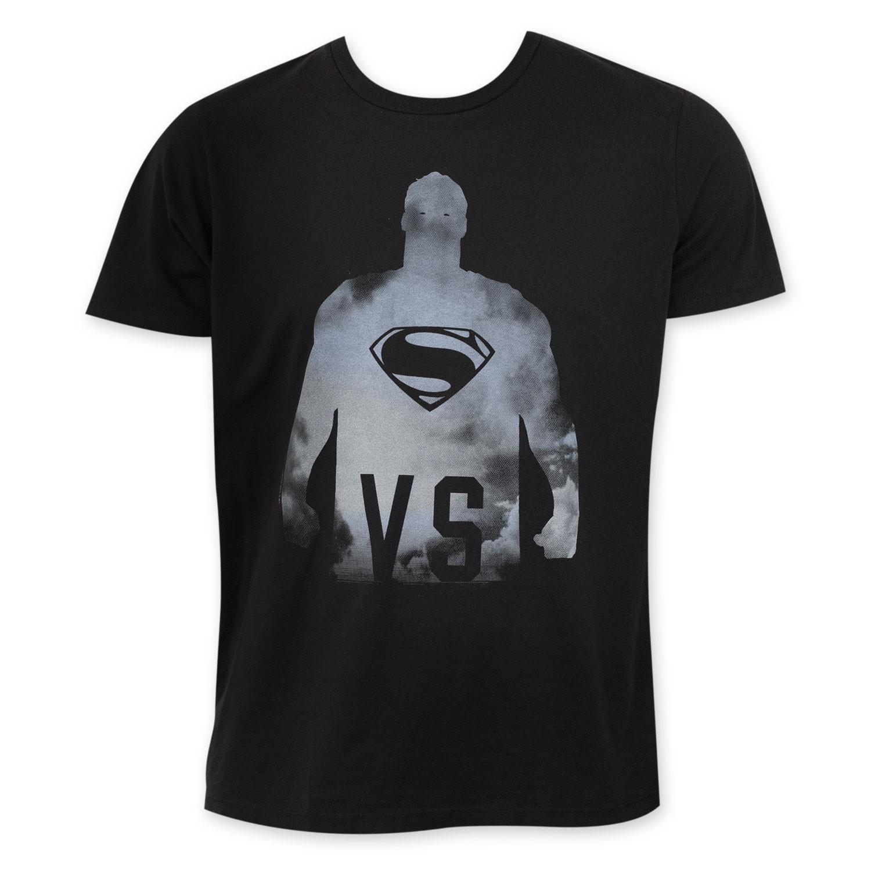 Junk Food Black Batman v Superman VS Tee Shirt
