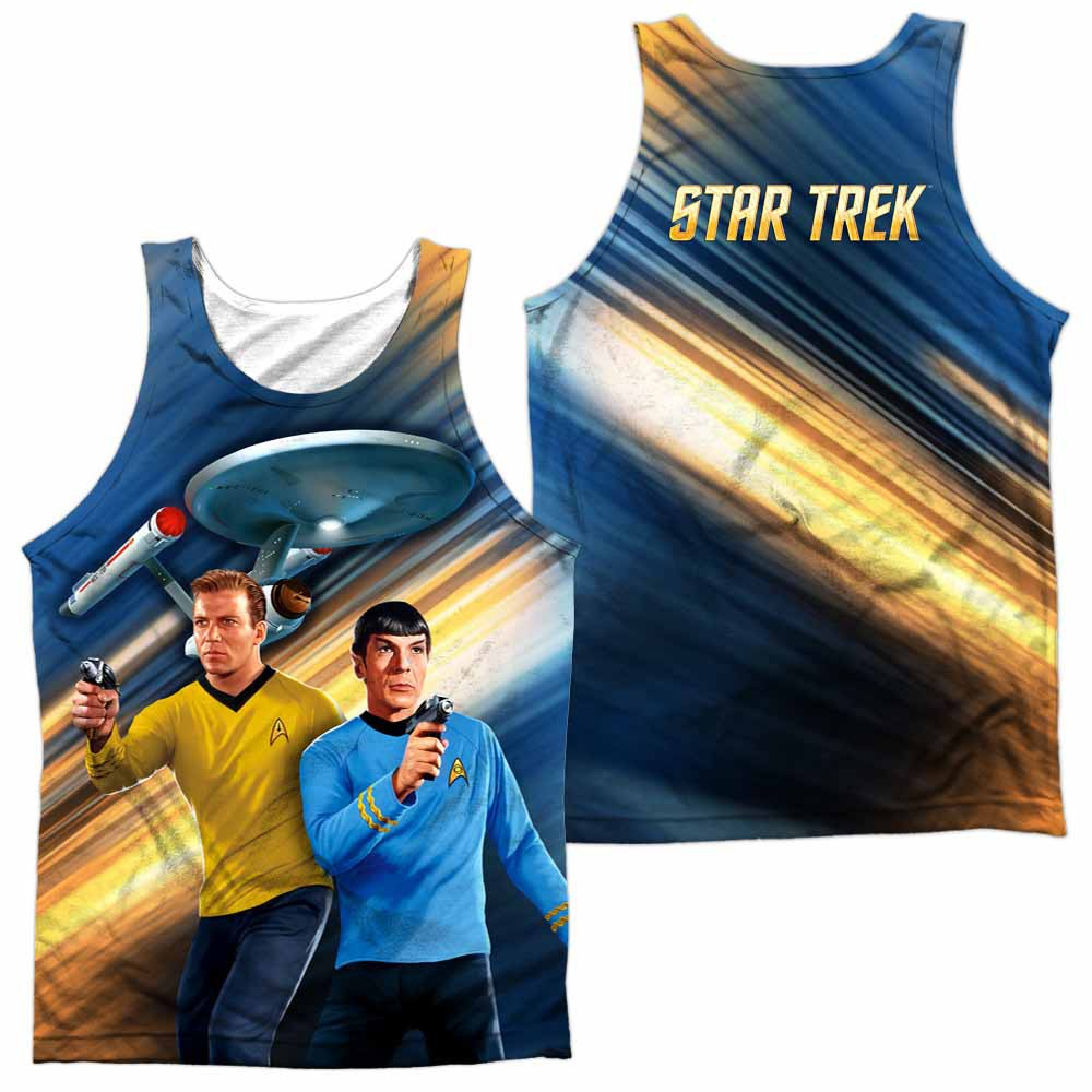 Star Trek Phasers Down Sublimation Tank Top