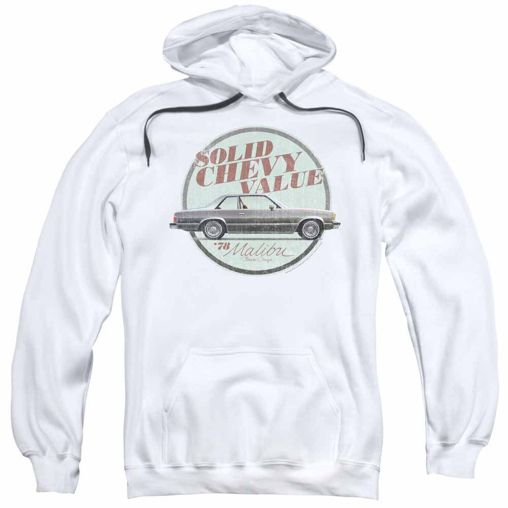 Chevy Do The 'Bu White Pullover Hoodie