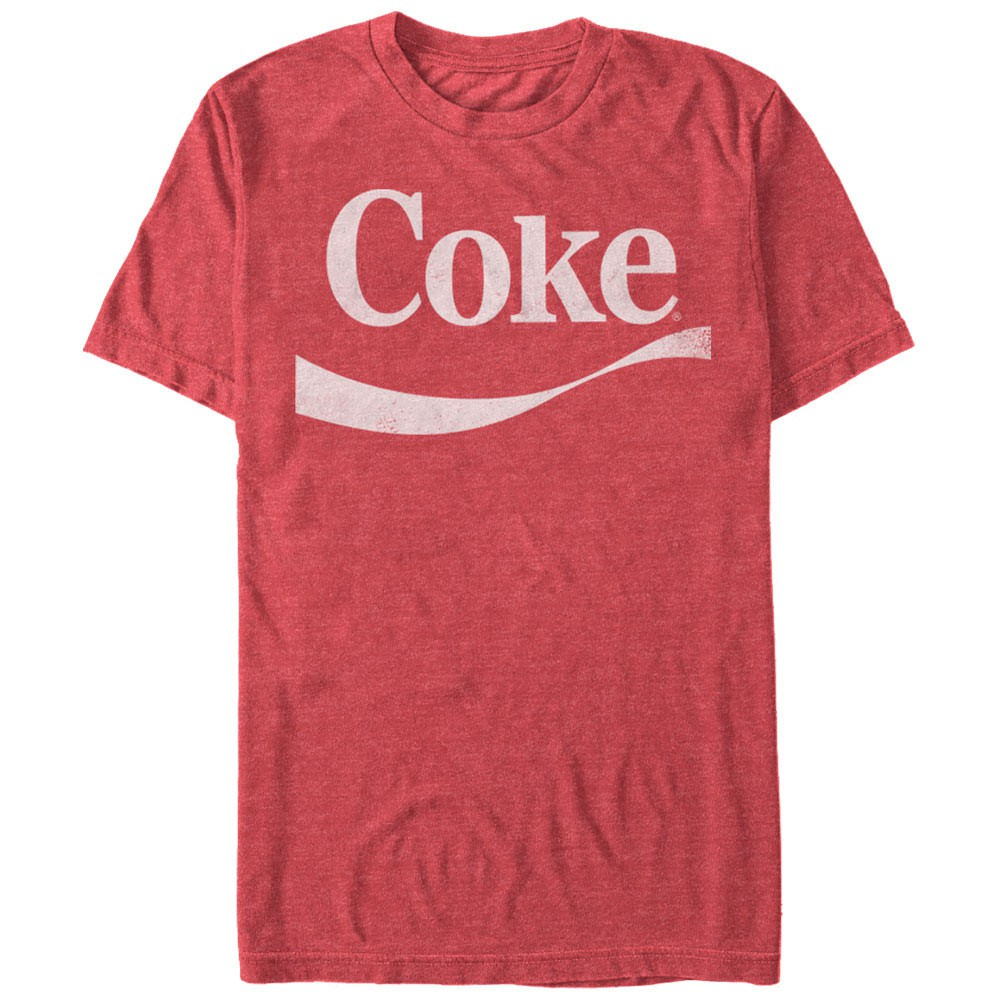 Coca-Cola Simple Coke Swoosh Red T-Shirt