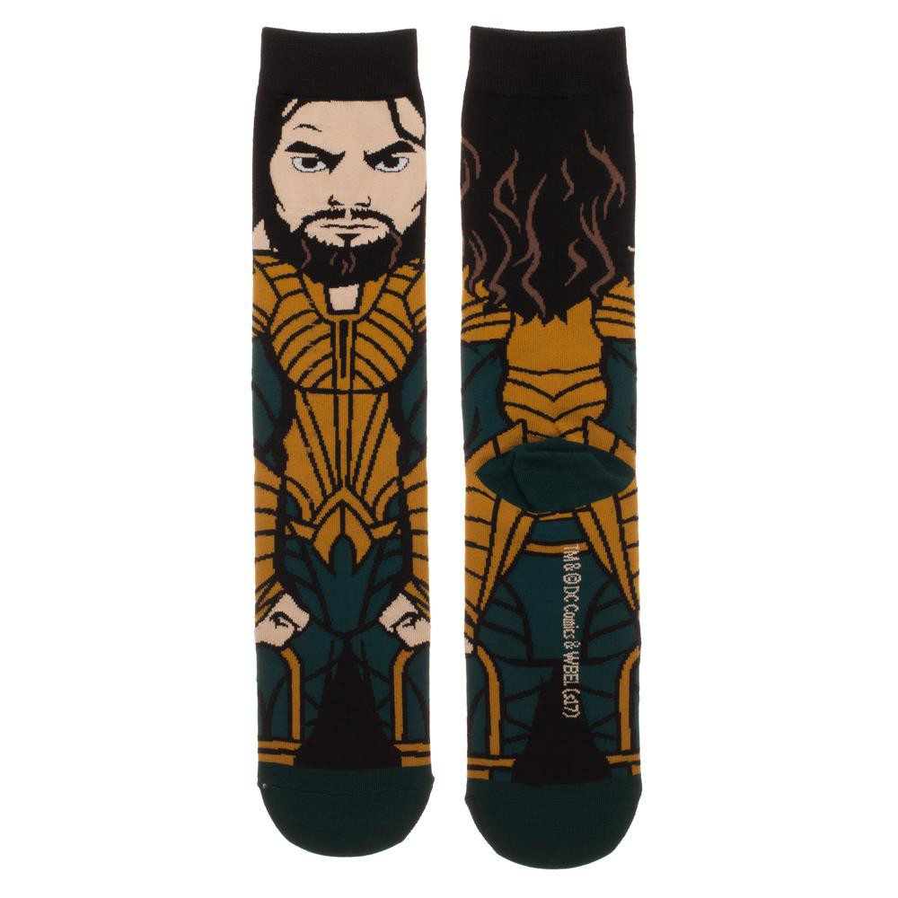 Justice League Aquaman Portrait Socks