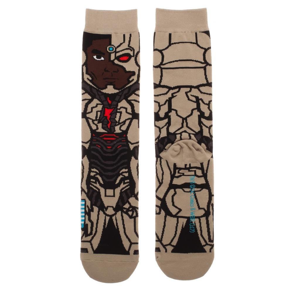 Justice League Cyborg Portrait Socks