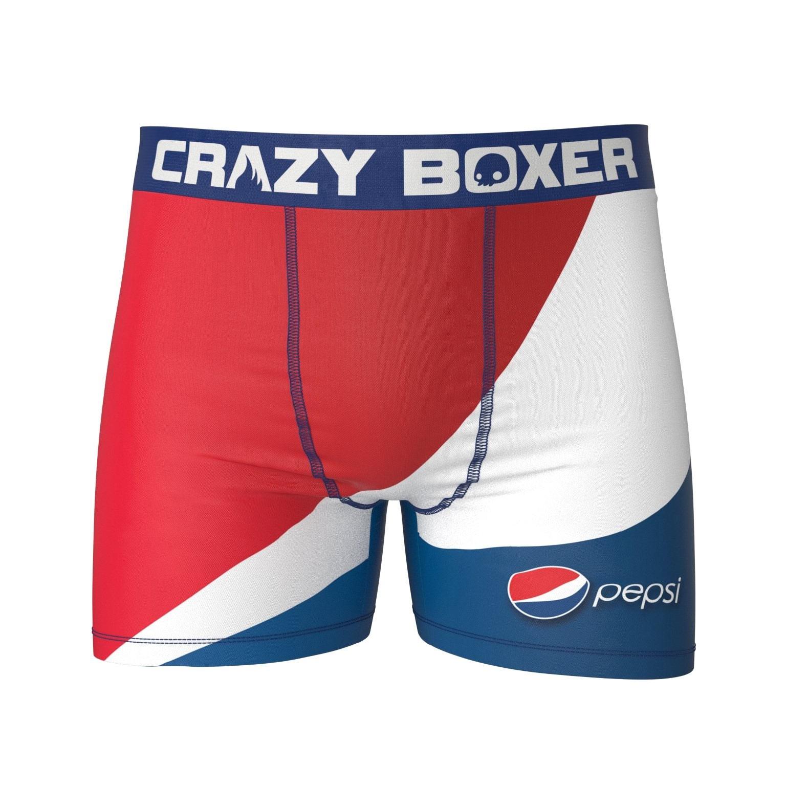 Pepsi Red White Blue Men's Boxer Briefs