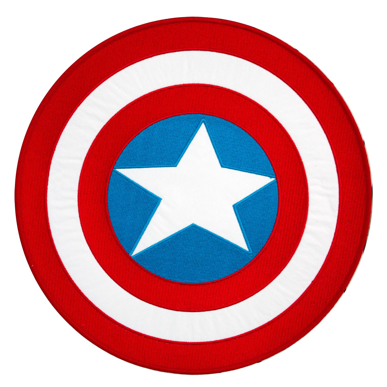 Captain America 10 Inch Logo Patch