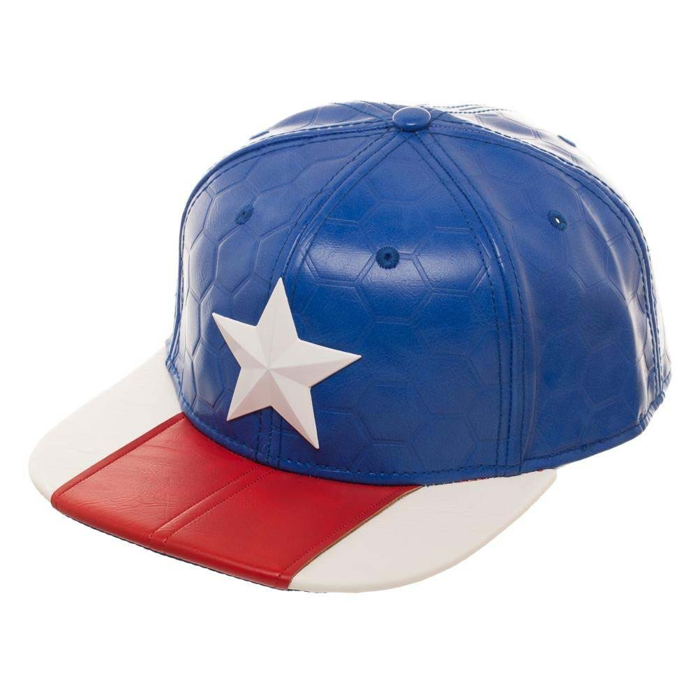 Captain America Suit Up Men's Hat