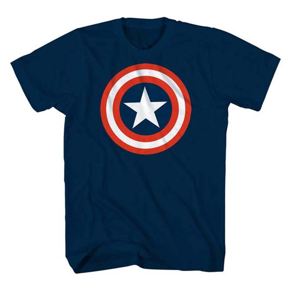Captain America Youth Star Logo Tee Shirt