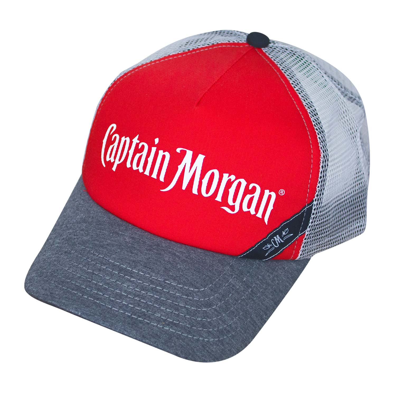 46f72ec64 Captain Morgan White Mesh Trucker Hat