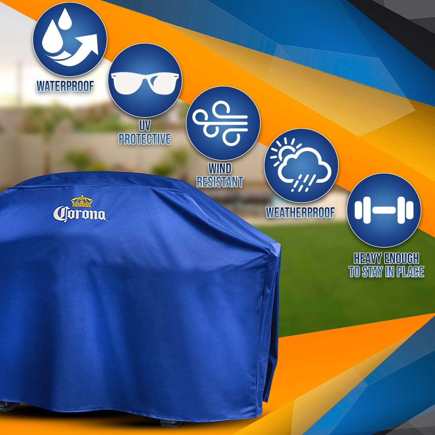 Corona Extra Weather Resistant BBQ Grill Cover