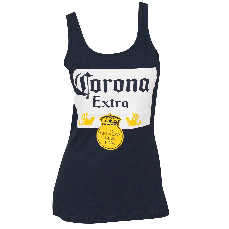 Women's Corona Label Blue Tank Top