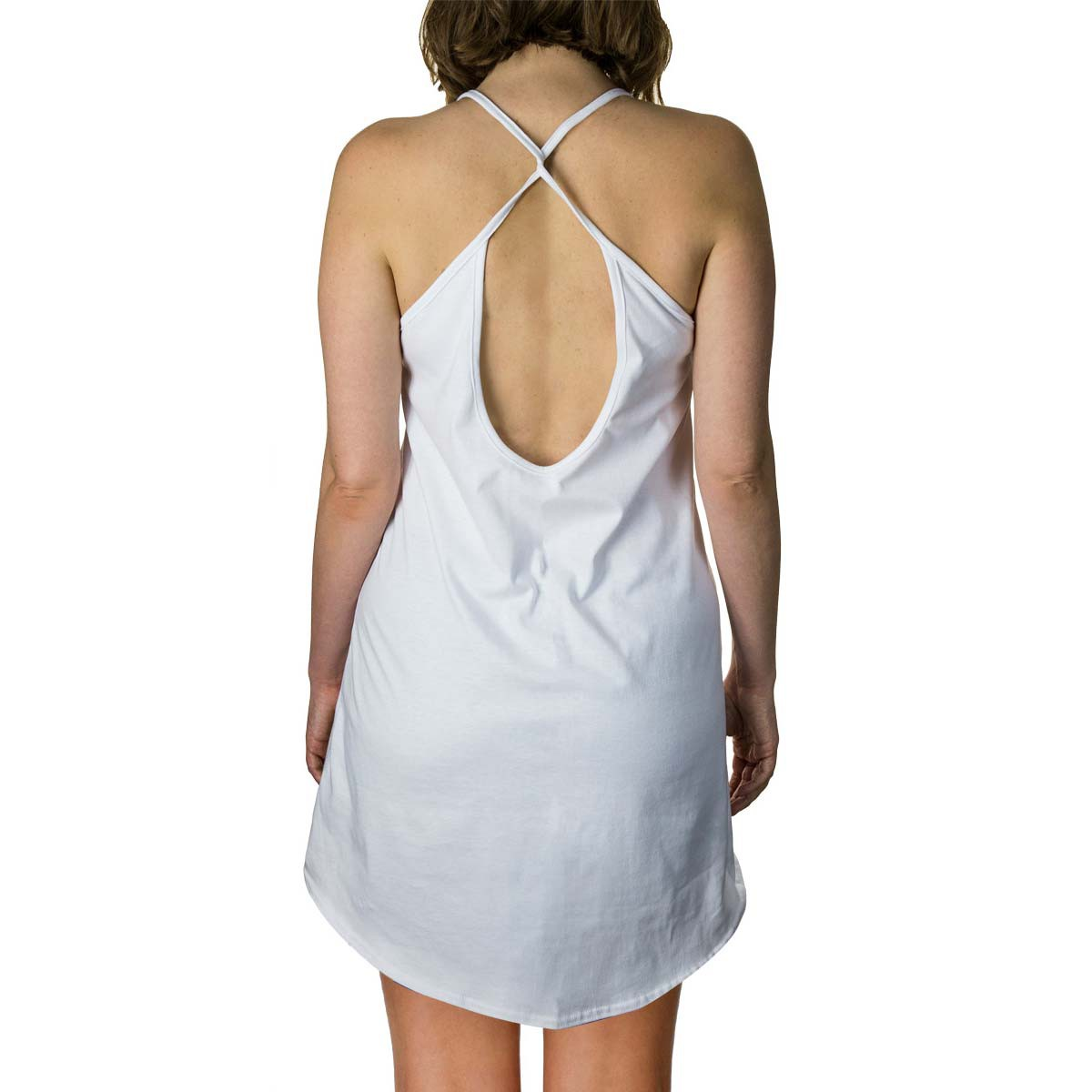 Corona Extra Halter Top White Ladies Tank Top Dress