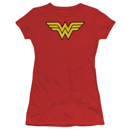 Wonder Woman Classic Logo Red Women's T-Shirt