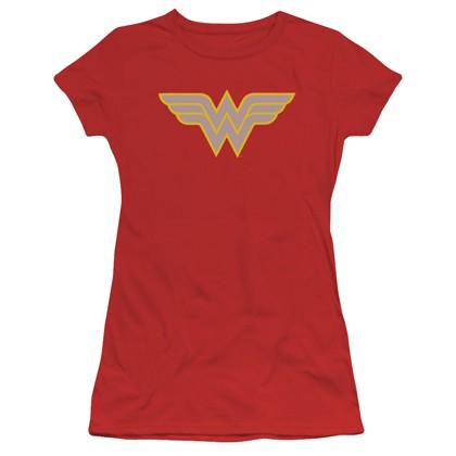 Wonder Woman Vintage Logo Women's Tshirt