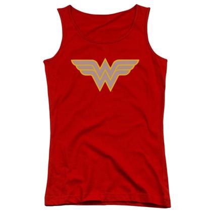Wonder Woman Vintage Logo Women's Tank Top