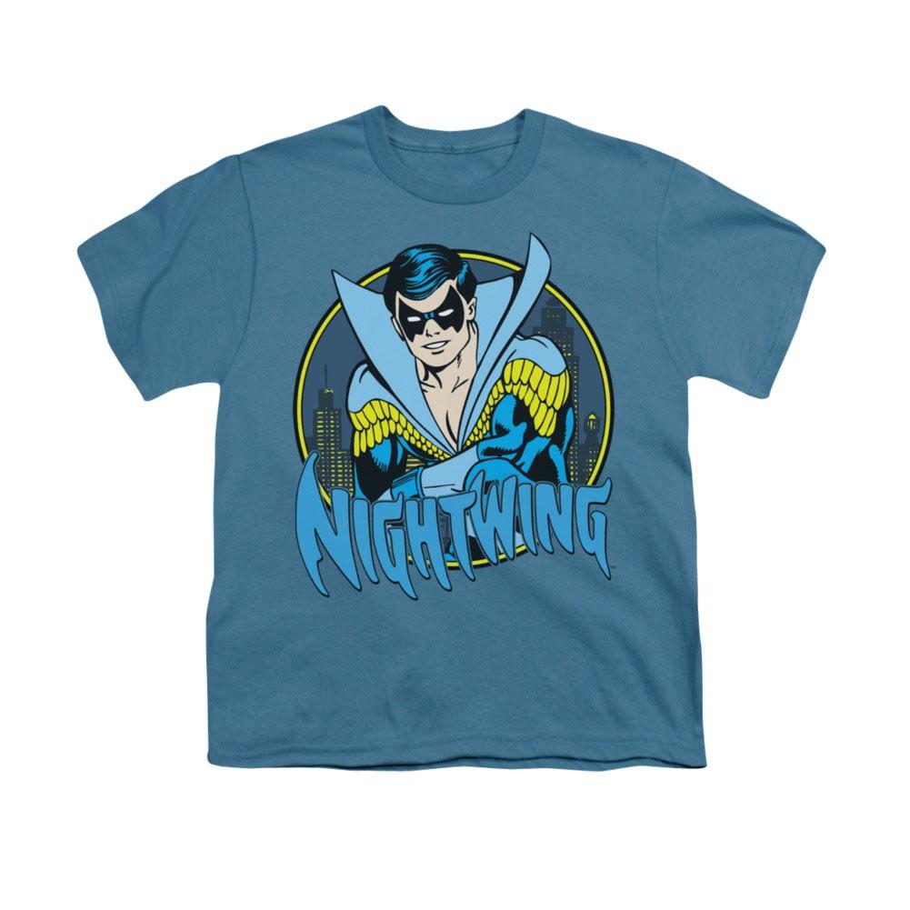 Batman Nightwing Blue Youth Unisex T-Shirt