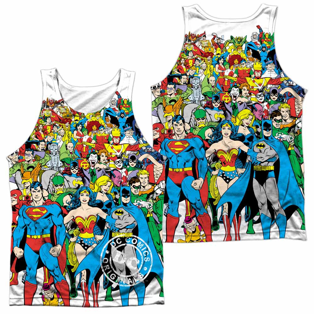 DC Original Universe Sublimation Tank Top